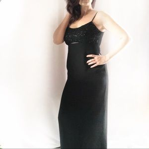 Laundry by Shelli Segal Black Evening Gown Sz 6